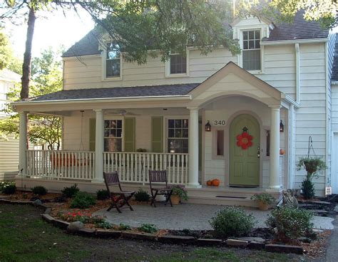 front porch house plans front porch ideas exterior farmhouse with exposed rafters cottage
