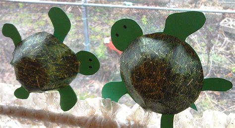 Paper Turtle Craft - 3d turtle craft woo jr activities