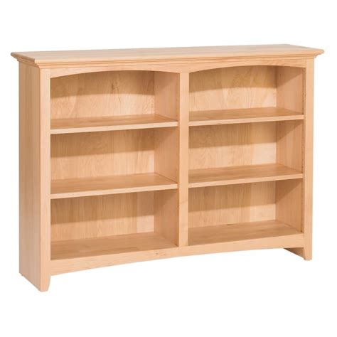 Whittier Wood Mckenzie Bookcase Collection 48 Wide 36 Wide Bookshelves