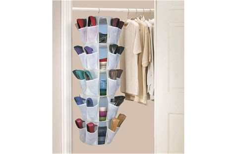 hanging shoe holder hanging shoe organizer for easy choice of the right footwear furniture and decors com