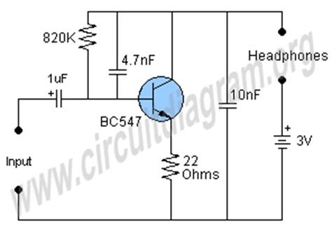 simple transistor guitar lifier headphone guitar lifier schematic get free image about wiring diagram