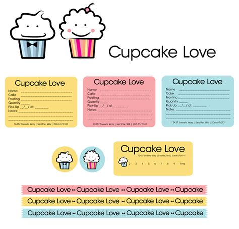 cupcake invoice template cupcake business invoice template studio design