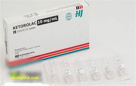 Obat Mata Bintitan Tablet harga aturan pakai fungsi obat ketorolac dan efek