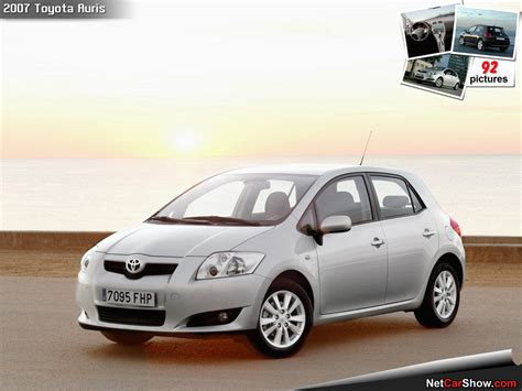 Toyota Auris Usa 2007 Toyota Auris Pictures Information And Specs Auto