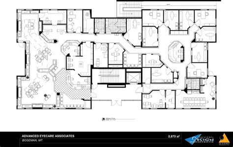 Unique Houseplans by Portfolio Optometric Offices Modern Design Oadbe