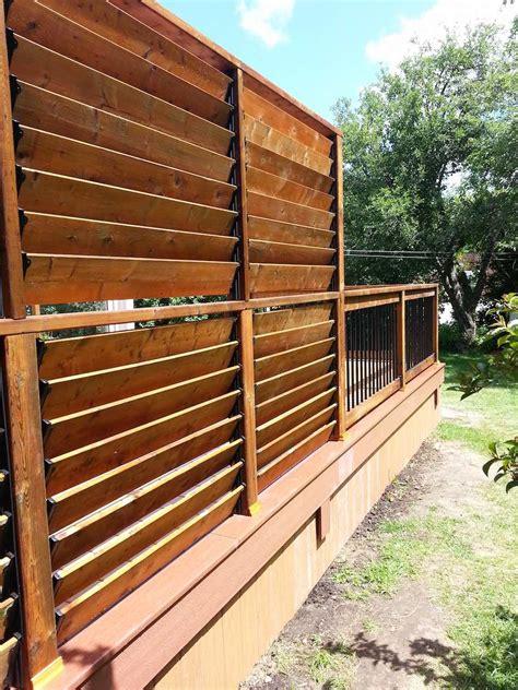 Deck Railings   FLEX?fence   Louver System