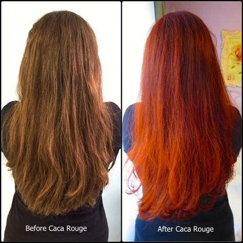 henna before and after blog with instructions to caca rouge hairstyles