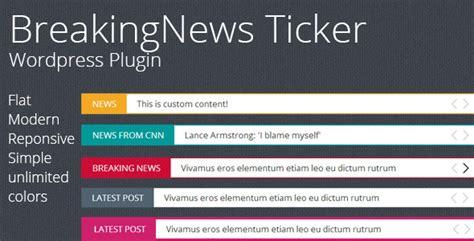 15 best premium news ticker wordpress plugins tutorial zone