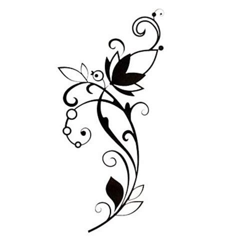 tattoo stickers flower series pattern waterproof women