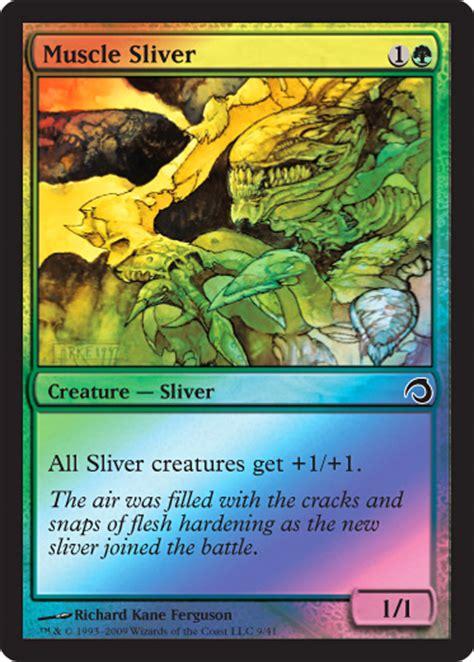 sliver deck premium deck series slivers magic the gathering