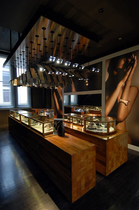 retail jewellery shop interior design of bunda boutique by