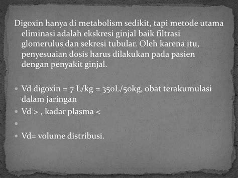 Obat Digoxin membran transpor