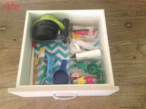 bizzydayz organising on a budget the second drawer