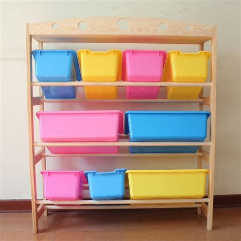 toys storage holder cases rack wooden putting away