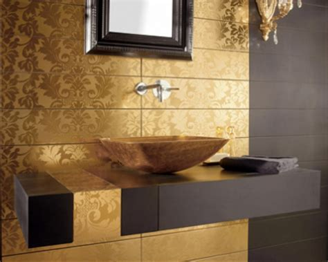gold bathroom tile great bathroom tile ideas www nicespace me