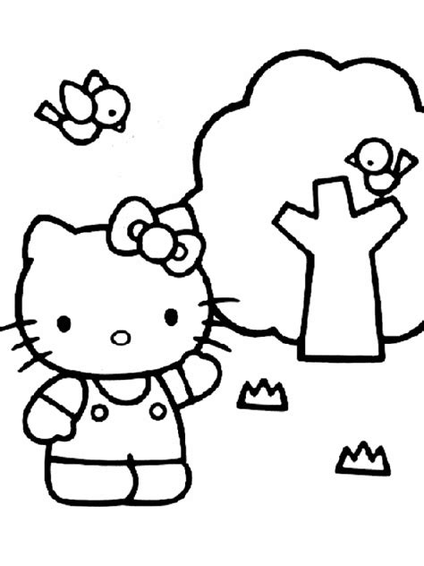 childrens coloring pages hello kitty free printable hello kitty coloring pages for kids