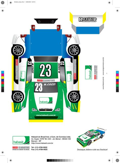 Car Papercraft - carro papercraft stock car by pedrojovelli on deviantart