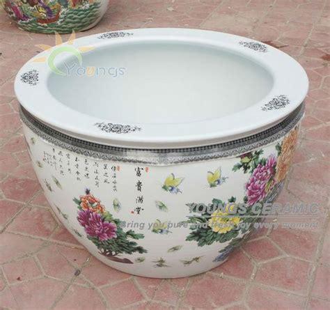 Large Ceramic Planters Wholesale by Wholesale Large Famille Ceramic Plant Pots