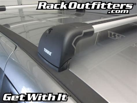 Rack Outfitters by New Mazda Mazda5 Thule Silver Aeroblade Edge Roof Rack 12