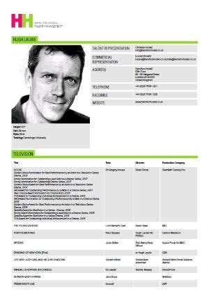 actor cv template 32 acting resumes of and wannabes