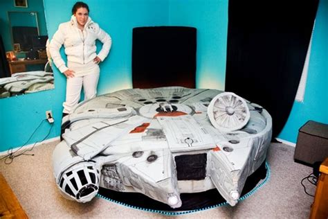 awesome millennium falcon bed mightymega