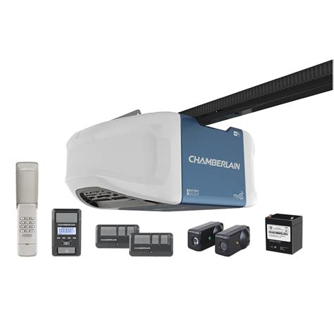 Shop Chamberlain 1 25 Hp Whisper Drive Belt Drive Garage Where To Buy Chamberlain Garage Door Opener