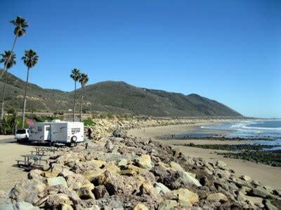 ventura beach camping california state beaches and