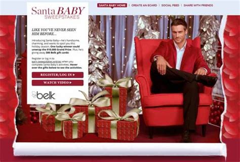 Baby Sweepstakes 2014 - santa baby sweepstakes belksantababy com sweepstakes pit