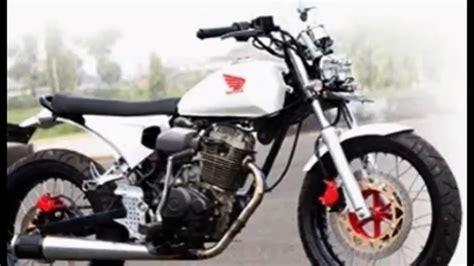 Motor Modif Dijual by Jual Motor Honda Cb 100 Modif Hobbiesxstyle