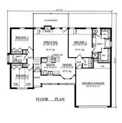 3 Bedroom Floor Plans Gallery For Gt 3 Bedroom House Layouts