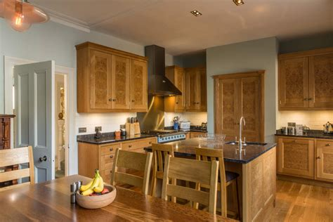 Handmade Kitchens Bristol - burr oak kitchen bishopston bristol furniture
