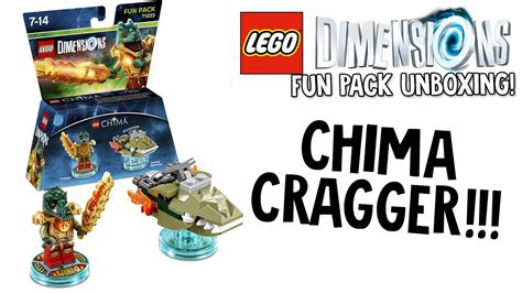 Lego 71223 Dimensions Pack Cragger lego dimensions chima cragger pack unboxing lego