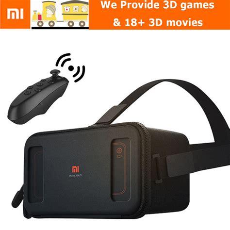 Xiaomi Mi Vr 3d Reality Headset Box For Smartphone aliexpress buy in stock xiaomi vr original mi box reality with remote controller