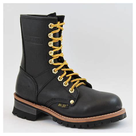 adtec boots s 9 quot ad tec 174 logger boots black 303868 work
