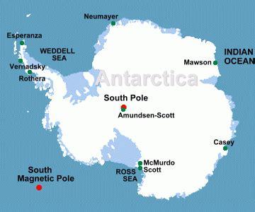 map of antarctica with cities antarctica