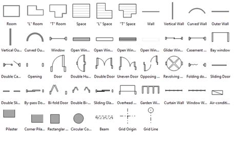 floor plan symbols chart sweet floor plan software for linux design floor plan