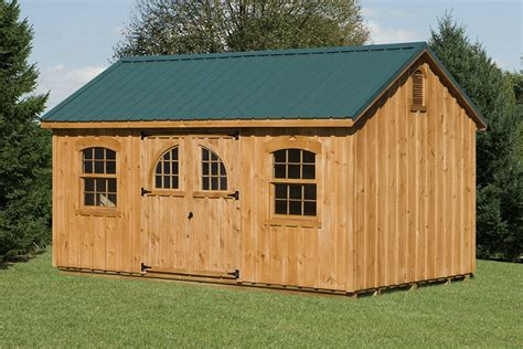10 X 16 Storage Shed by 10x16 Gable Style Shed Capitol Sheds
