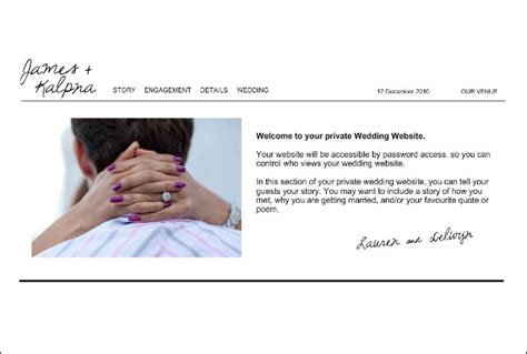 Wedding Websites Exles by Wedding Website Exles Our Story Wedding Ideas 2018