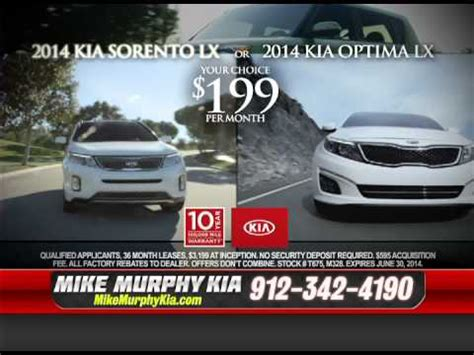 thank you service and from mike murphy kia