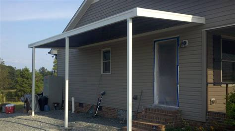 metal awnings for doors adds secure and also convenience
