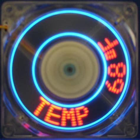 led pc fans cooljag programmable led flash 80mm fan