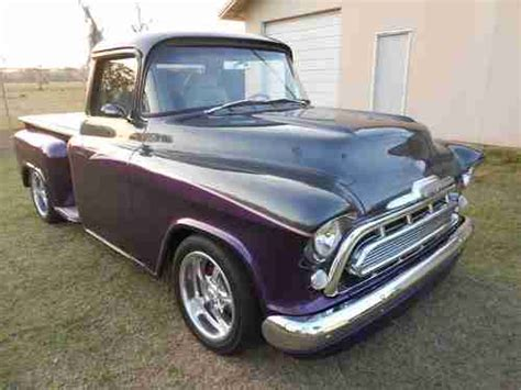 1957 chevy truck hot rod buy new 1957 chevy 3100 custom pickup hot rod show truck