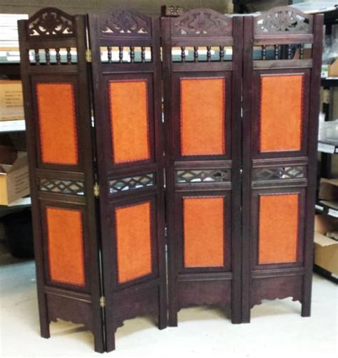 Wooden Screen Room Divider 4 Panel Wooden Screen Room Divider Foldable Paravent Partition