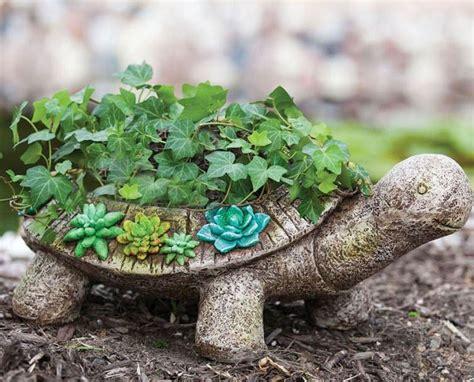 Garden Turtle by New Creative Succulent Garden Turtle Planter Fresh