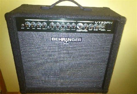 behringer vt50fx virtube satılık behringer vt50fx virtube 50 watt guitar lifier