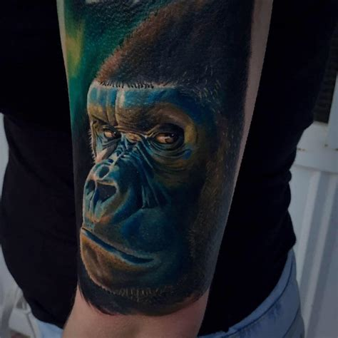 gorilla tattoo designs gorilla tattoos askideas