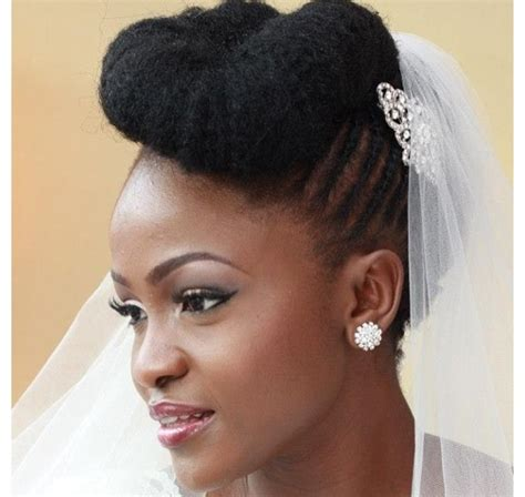 bridal hairstyles natural hair 50 best wedding hairstyles for black women 2018 cruckers