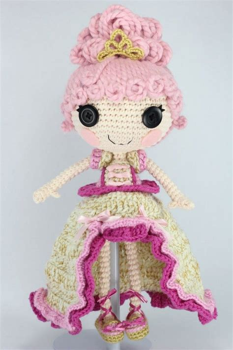 pattern for lalaloopsy clothes lalaloopsy goldie luxe crochet amigurumi doll by npantz22