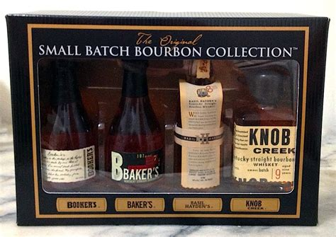 Knob Creek Gift Set by Chemistry Of The Cocktail Whiskey Review Jim Beam Small