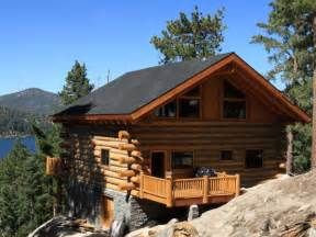 how to build a butt and pass log cabin